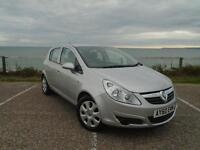Vauxhall Corsa 1.4 i 16v Exclusiv 5dr (silver) 2010