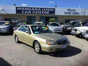 2003 Hyundai Grandeur Gold 5 Speed Sequential Auto Sedan Wangara Wanneroo Area Preview