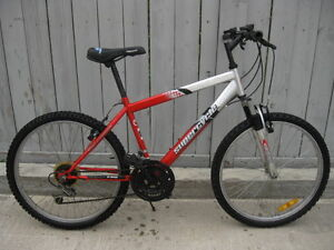 "Supercycle XTI-21 21-speed, 24"" wheel mtb w/front suspension"