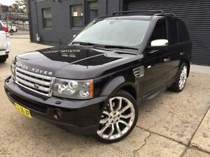 2008 Land Rover Range Rover MY08 Sport 3.6 TDV8 Black 6 Speed Sequential Auto Wagon Mortdale Hurstville Area Preview