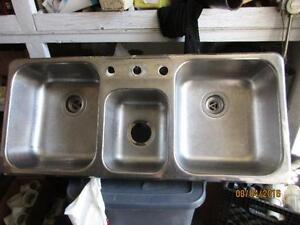 Triple Compartment Sink $75.00
