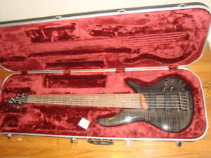 BRAND NEW !!! IBANEZ 6-STRING BASS GUITAR w. CASE