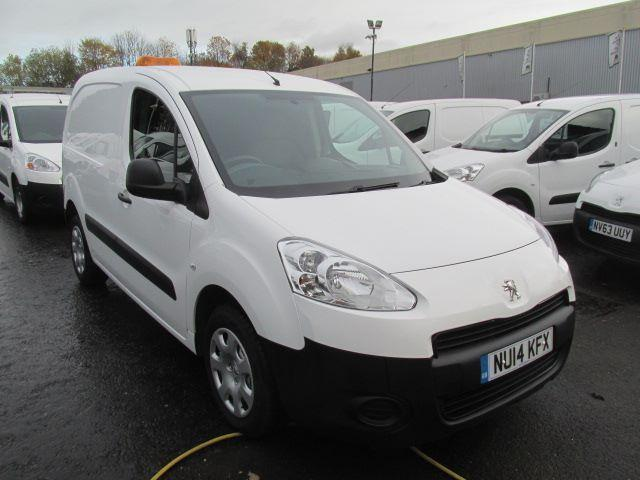 Peugeot Partner L1 850 S 1.6 Hdi 92 Van DIESEL MANUAL WHITE (2014)