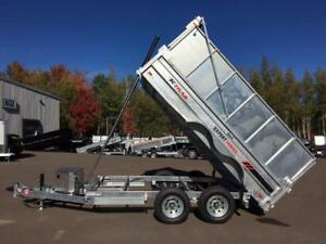 NEW 2019 K-TRAIL 6' x 12' HIGH SIDE DUMP TRAILER