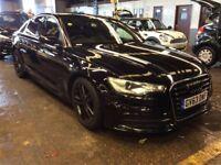 AUDI A6 2.0 TDI S LINE 4d 175 BHP (black) 2014