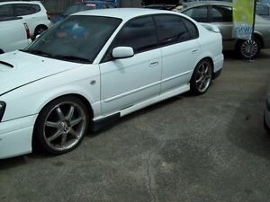 2003 Subaru Liberty B3 MY03 B4 AWD White 4 Speed Sports Automatic Sedan Capalaba West Brisbane South East Preview