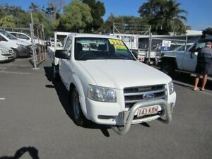 2007 Ford Ranger PJ XL 4x2 White 5 Speed Manual Utility Maroochydore Maroochydore Area Preview