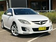 2008 Mazda 6 GH1051 Luxury White Sports Automatic Sedan Mount Druitt Blacktown Area Preview