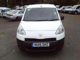 Peugeot Partner L1 850 S 1.6 HDI 92bhp Van DIESEL MANUAL WHITE (2015)