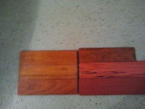 Cherry Coloured Hardwood