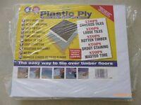 Plastic Ply - 10 Full Packs. Each pack has 4 sheets @ 600x500mm = 1.2sqm