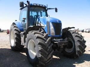 2003 NEW HOLLAND TG285 MFWD TRACTOR