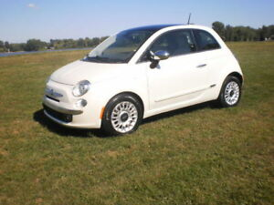 Fiat 500 Lounge 2012 CUIR/TOIT/MAGS - 92 435 KM