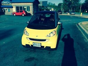 2008 Smart Fortwo Yellow Coupe (2 door)