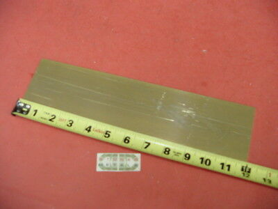 18 X 3 C360 Brass Flat Bar 12 Long Solid .125 Plate Mill Stock H02