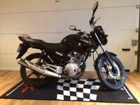 Yamaha YBR125 2014 484 Genuine Miles, Superb Condition MOT Nov-18