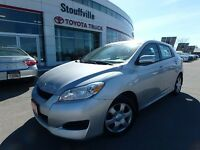 2010 Toyota Matrix XR -OFF-LEASE - ONE-OWNER - TOYOTA CERTIFIED