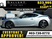 2014 Scion FR-S Coupe $169 bi-weekly APPLY NOW DRIVE NOW