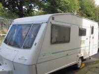 Elddis Crown Sovereign Four Berth Touring Caravan