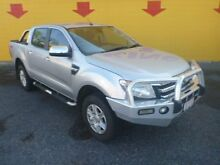 2012 Ford Ranger PX XLT Double Cab Silver 6 Speed Manual Utility Winnellie Darwin City Preview