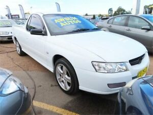 2006 Holden Ute VZ MY06 White Automatic Utility Minchinbury Blacktown Area Preview