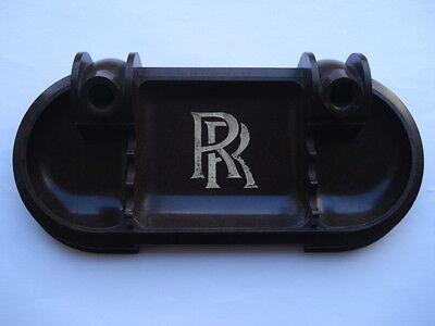 RARE C1930S VINTAGE ROLLS ROYCE CARS PROMOTIONAL BAKEOLITE PEN TRAY/HOLDER