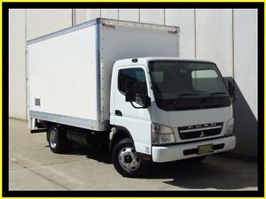2010 Mitsubishi Fuso Canter FE MY08 FE84D 3.5 MWB White Cab Chassis 4.9l Penrith Penrith Area Preview