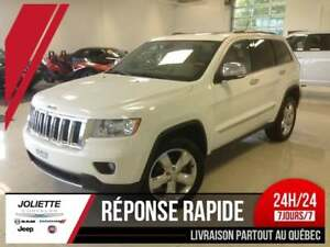 2012 Jeep Grand Cherokee Overland, CUIR, TOIT PANORAMIQUE, MAG,