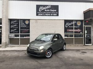 2012 FIAT 500 POP **MANUAL**178,00KM**PRICED TO SELL** Pop