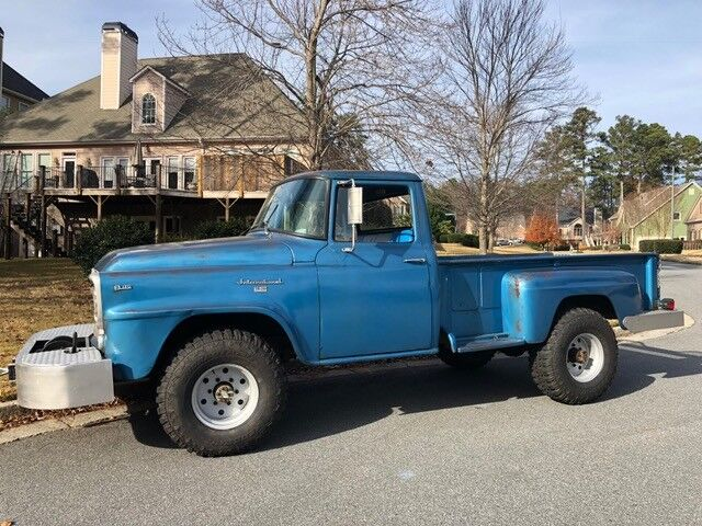 1960 International Harvester B120  1960 International Harvester B-120 Pickup