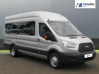 2015 Ford Transit 2.2 TDCi 155ps H3 18 Seater Diesel silver Manual