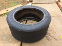 Race Tyre Flower/Shrub Planter