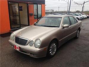 2001 Mercedes-Benz E-Class E320**LEATHER****SUNROOF***ONLY 154KM London Ontario image 4