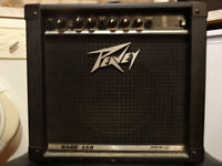 AMP peavey amplifier 40W with leads