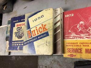 vintage shop manuals