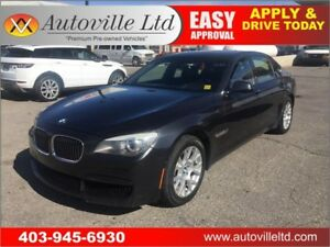2012 BMW 750Li xDrive M-SPORT 2 DVD REAR SEAT PACKAGE