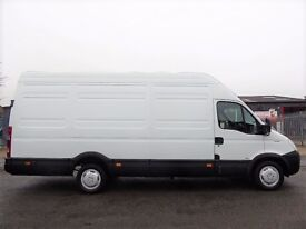 NO VAT!! Iveco Daily 35s12 2.3hpi long wheel base panel van, extra high roof,in white