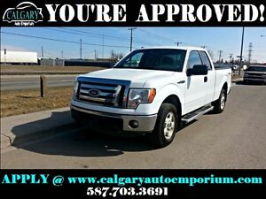 2012 Ford F-150 XLT 4x4 $99 DOWN EVERYONE APPROVED