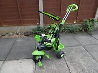 Childs tricycle with steering handle, suit 1-3 years