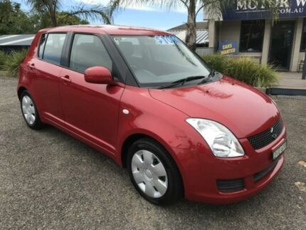2011 Suzuki Swift Red 4 Speed Automatic Hatchback