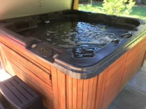 HOT TUB FOR SALE COAST SPA LANAI AROUND 10 YEARS OLD