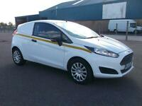 Ford Fiesta 1.5 TDCI 74BHP VAN DIESEL MANUAL WHITE (2013)