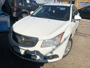 2012 Holden Cruze JH MY12 CD White 6 Speed Automatic Sedan Hoppers Crossing Wyndham Area Preview