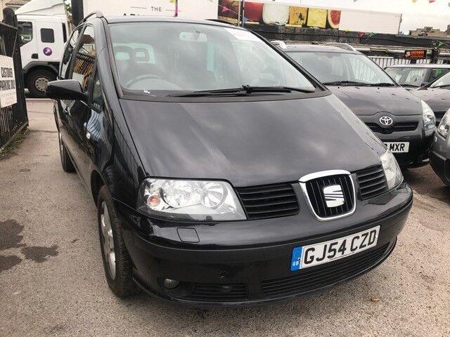 2005 SEAT ALHAMBRA 1.9 TDI AUTOMATIC, 7 SEATER, BLACK, HPI CLEAR, CLEAN CAR