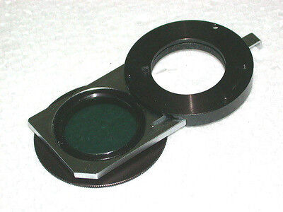 Polarizer Slider And Diaphragm For The Olympus Nic Nomarski Dic Condenser.