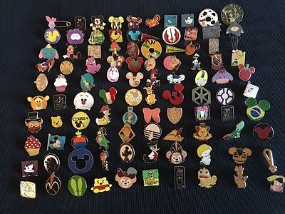 Disney Trading Pin Lot Of 50  100  Tradable   No Duplicates   Fast U S  Shipper