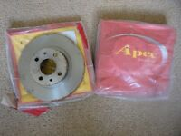 Fiat Punto brake discs (also fits Alfa Romeo 145/146, Fiat Brava/Bravo/Marea/Tipo/Tempra)