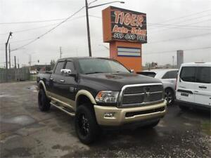 2011 Ram 2500 Laramie Longhorn*DIESEL**LEATHER**NAVI*ONLY 144KM