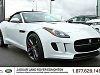 2014 Jaguar F-TYPE S Convertible - CPO 6yr/160000kms manufacture
