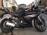 Yamaha YZF R125 2014 Low Mileage offers accepted